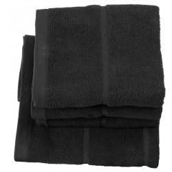 Ręcznik kąpielowy Adagio Black 70x130 Aquanova