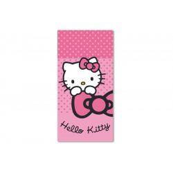 Ręcznik Hello Kitty 70x140 plażowy 02 1658 Detexpol