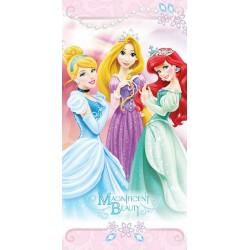 Ręcznik Księżniczki z mikrofibry 70x140 Princess Kopciuszek Arielka 6734 Faro