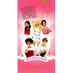 Ręcznik High School Musical 76x152 różowy 5777 Faro