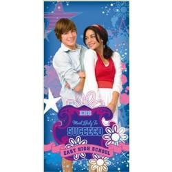 Ręcznik High School Musical 76x152 niebieski 5760 Faro