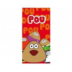 Ręcznik Pou 70x140 Pomarańczowy 60324