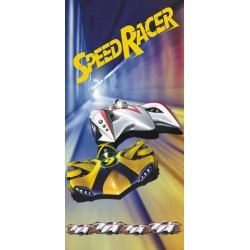 Ręcznik Speed Racer 75x150 Detexpol