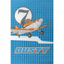 Ręcznik Samoloty 03 40x60 Dusty Planes kropki