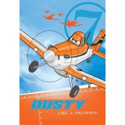 Ręcznik Samoloty 01 40x60 Dusty Planes Detexpol