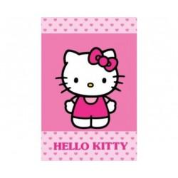 Ręcznik Hello Kitty 40x60 Różowy Malutkie Serduszka