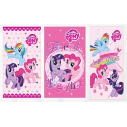 Ręcznik Kucyki Pony 30x50 komplet 3szt 7629 Detexpol