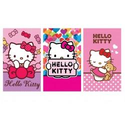 Ręcznik Hello Kitty 30x50 komplet 3szt 7612 Detexpol