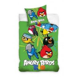 Pościel Angry Birds 160x200 Papuga Blu Rio 1628 Carbotex