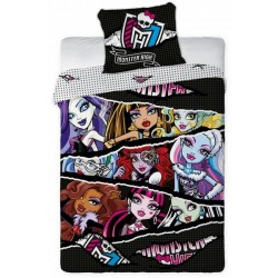 Pościel Monster High 160x200 Wydzieranka 1234