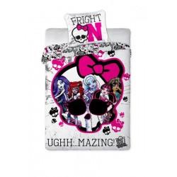 Pościel Monster High 160x200 czaszka 3375