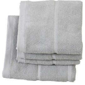 Ręcznik kąpielowy Adagio Silver jasny szary 70x130