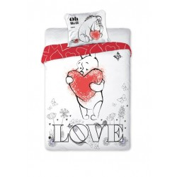 Pościel Kubuś Puchatek 160x200 Love 0854 Faro