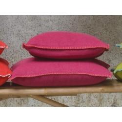 Poszewka David Fussenegger Sylt Uni Pink 50x50