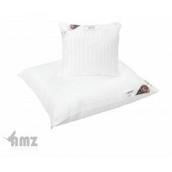 Poduszka Elegant 40x40 biała w paski AMZ