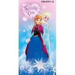 Ręcznik Frozen 70x140 Kraina Lodu 02 9548 Detexpol