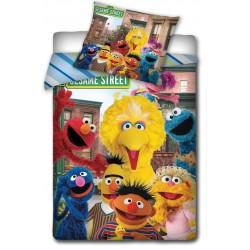 Pościel Ulica Sezamkowa 160x200 Sesame Street 5453 Carbotex