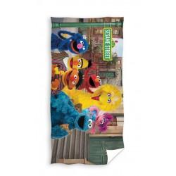 Ręcznik Ulica Sezamkowa 75x150 5651 Carbotex