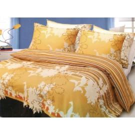 Pościel satynowa 200x220 Miami Yellow Faro