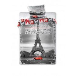Pościel Młodzieżowa 160x200 Paris City 04 7878 Faro