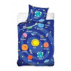 Pościel dziecięca 160x200 Kosmos Carbotex