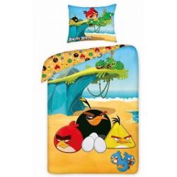 Pościel Angry Birds 160x200 Plaża