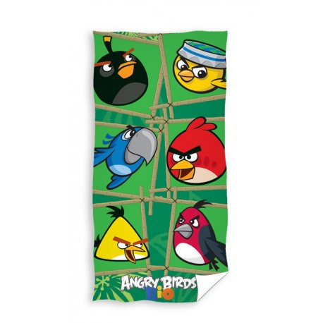 Ręcznik Angry Birds 70x140 5091 Carbotex