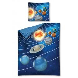 Pościel dziecięca 140x200 Kosmos Detexpol