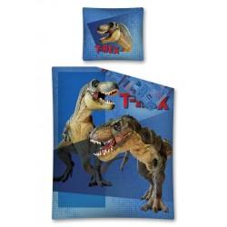 Pościel bawełniana 160x200 T-Rex Dino Adventure Detexpol