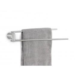 Wieszak/Reling na ręczniki dwuramienny Duo Matt Blomus