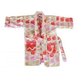 Szlafrok dziecięcy David Fussenegger Kimono Apples 2-4l