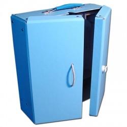 Walizeczka szafa niebieska