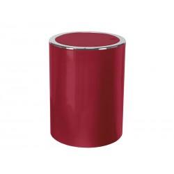 Kosz na śmieci Kleine Wolke 3L Clap Red