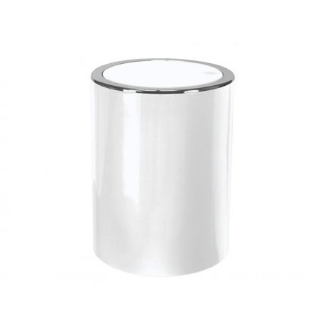 Kosz na śmieci Kleine Wolke 5L Clap White