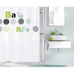 Zasłona Bathroom 180x200 Kleine Wolke