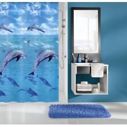 Zasłona Dolphin Multicolor 180x200 Kleine Wolke