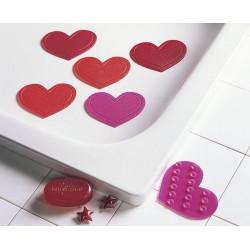 Minis Kleine Wolke Herz Pink x6