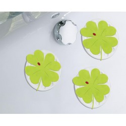 Minis Kleine Wolke Lucky Leaf Green x4