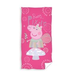 Ręcznik Świnka Peppa 70x140 Wróżka Carbotex