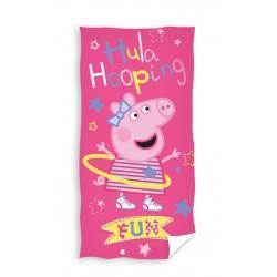 Ręcznik Świnka Peppa 70x140 Hula Hop Carbotex