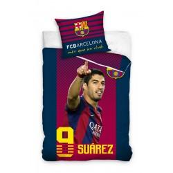 Pościel Barcelona 140x200 Luis Suarez 2458 Carbotex