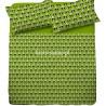 Pościel bawełniana 160x200 Miś Panda Zielona
