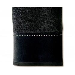 Ręcznik Move Crystal Row Black 30x50