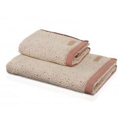 Ręcznik Move Spa Rhombs Sienna 80x150