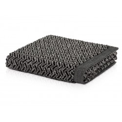 Ręcznik Move Brooklyn Zigzag Black 80x150
