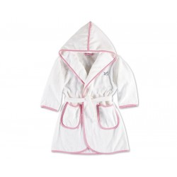 Szlafrok Move Kids Hooded Pink 104