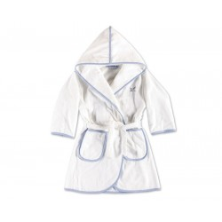 Szlafrok Move Kids Hooded Blue 92
