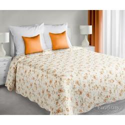 Narzuta dekoracyjna 170x210 Rossi kremowo pomarańczowa Eurofirany