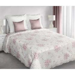 Narzuta dekoracyjna 220x240 Rebeca kremowo różowa Eurofirany