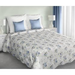 Narzuta dekoracyjna 220x240 Cathy biało niebieska Eurofirany
